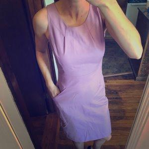 Jcrew purple pencil dress